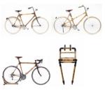 fietsen en drager